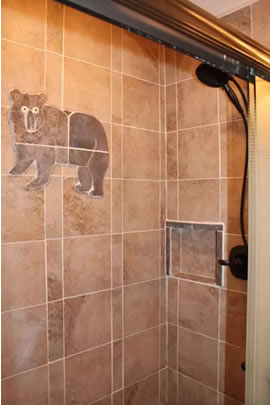 Black Bear Suite Bathroom