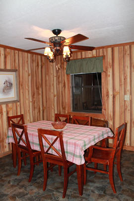 Mountain Cabin dining room