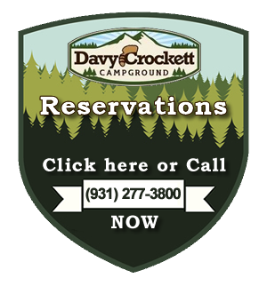 Davy Crockett Campground Crossville Tennessee